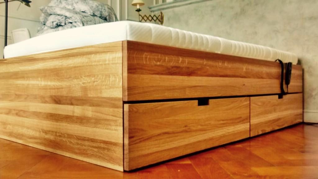 Komfortbetten nach Maß - Capella mit Schubkästen