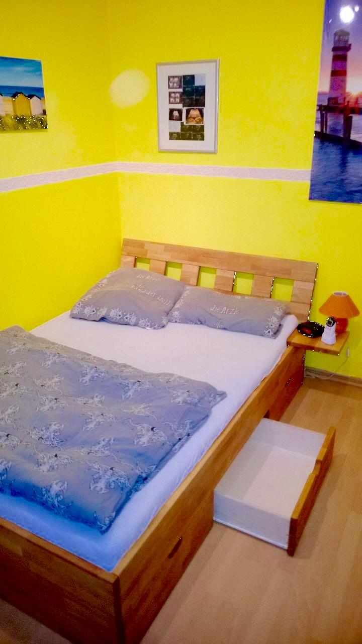 massivholz bett inlignum m bel. Black Bedroom Furniture Sets. Home Design Ideas