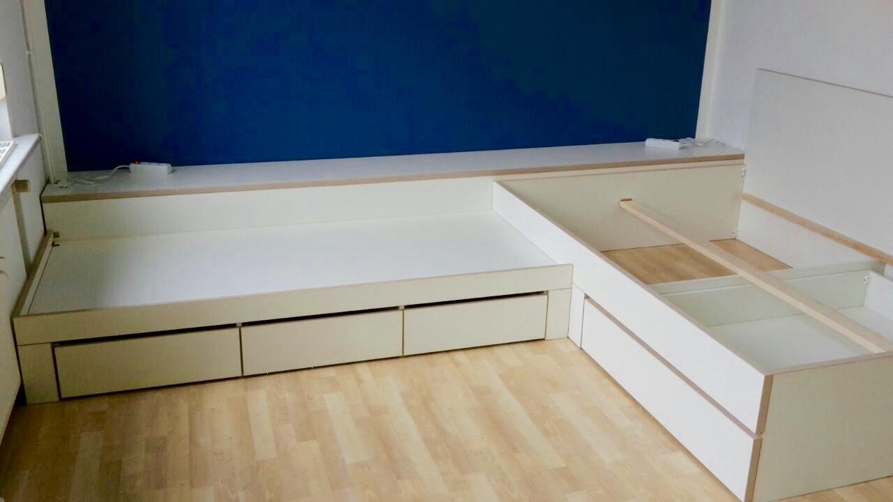 kinderbett inlignum m bel. Black Bedroom Furniture Sets. Home Design Ideas