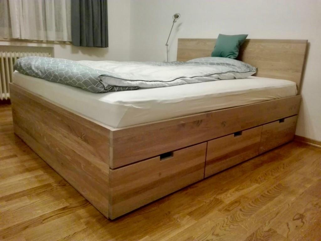 Betten Mit Bettkasten Nach Maß Von Inlignum Möbel