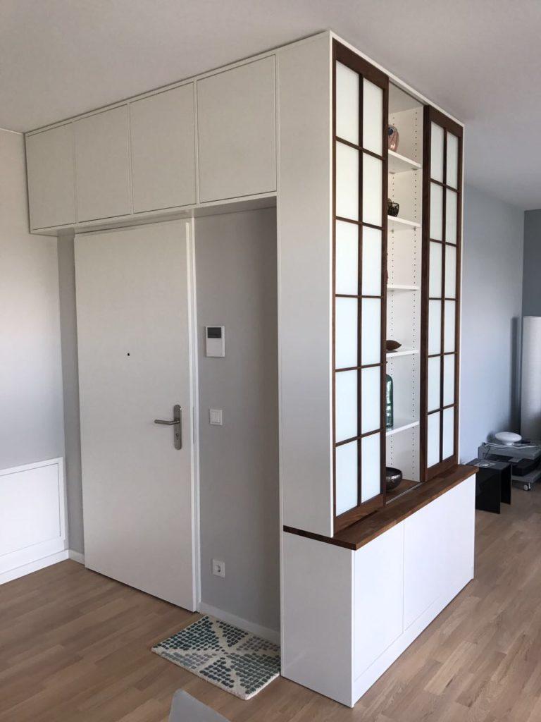 Schrankwand -  Einbaukombination von Inlignum Möbel
