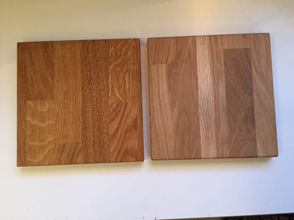 Holzöl - Unterschiede zwischen Bianco Öl und Leinölfirniss